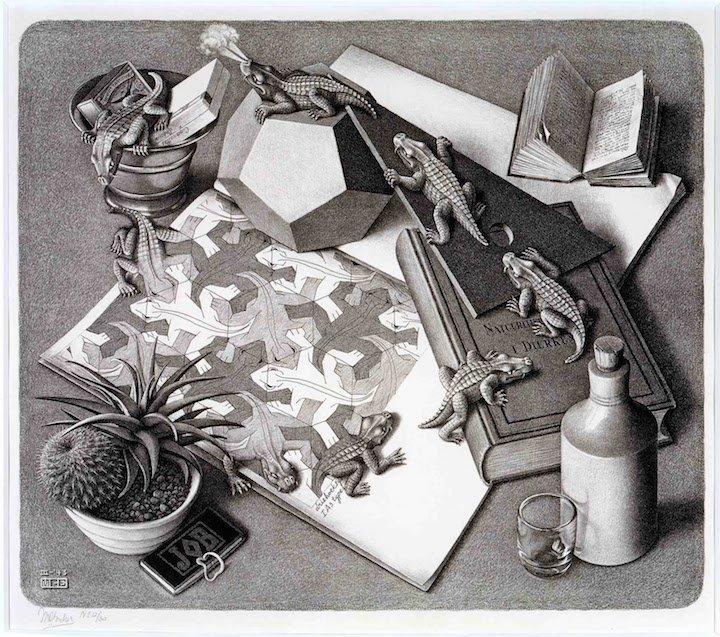 Escher Reptiles