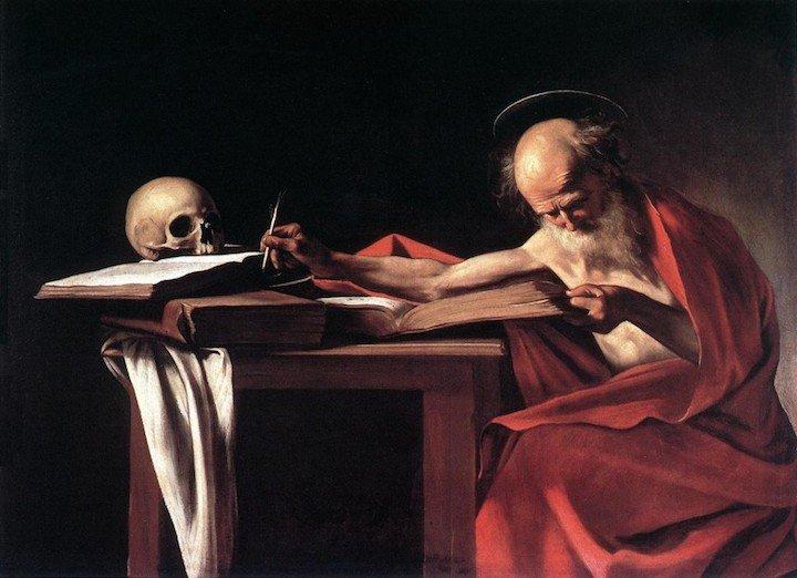 St Jerome Caravaggio