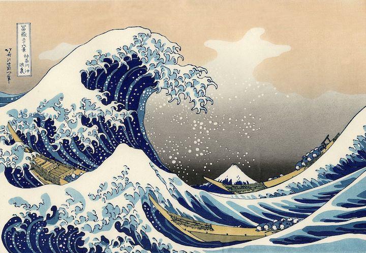 Katsushika Hokusai - The Great Wave