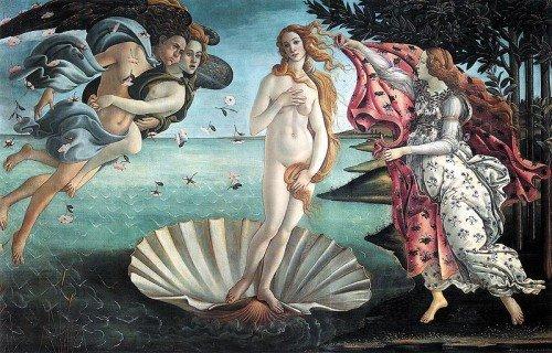 Sandro Botticelli – Venüs'ün Doğuşu