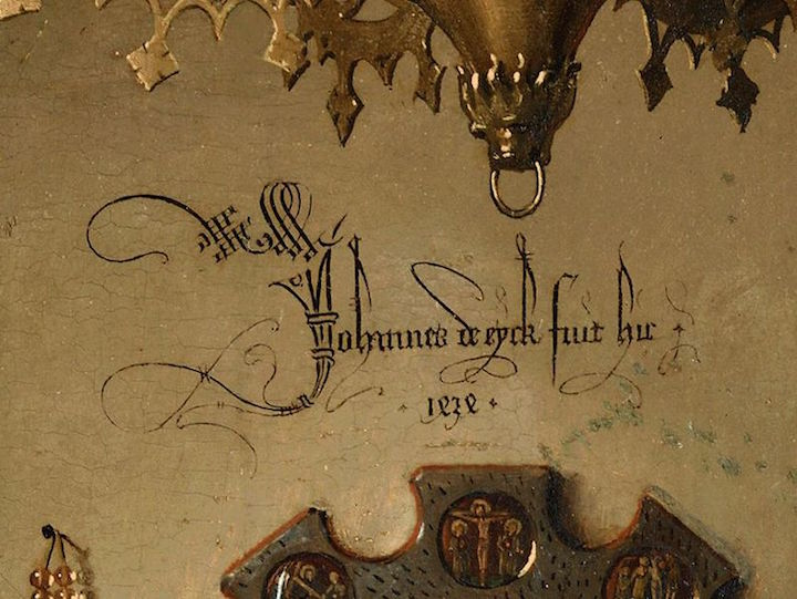 Jan van Eyck imza