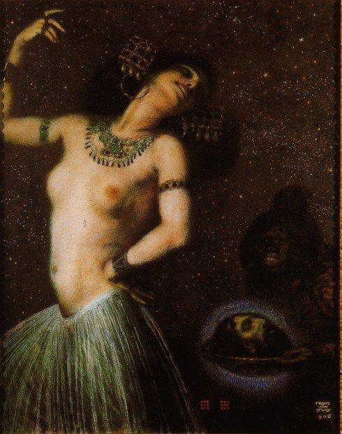 Franz von Stuck'tan Oscar Wilde'ın Salome'si