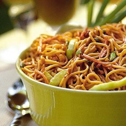 citrus spiked chinese noodle salad
