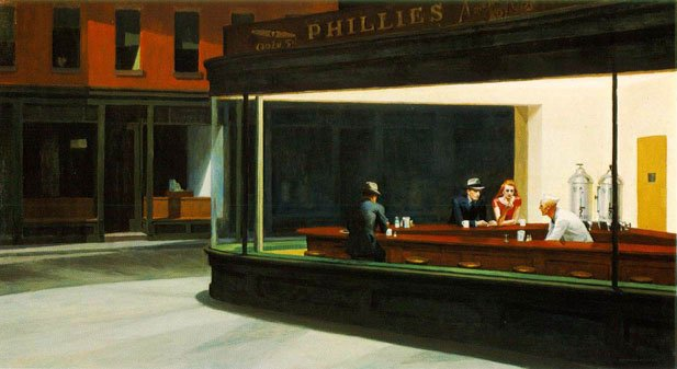 Edward Hopper / Nighthawks