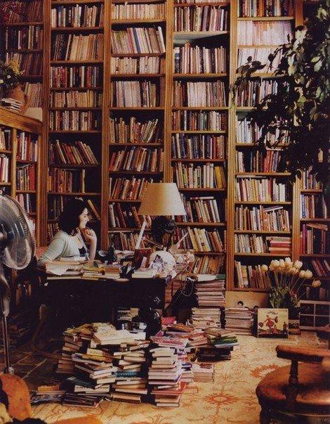 Evde okuma köşeleri ve kitaplıklar