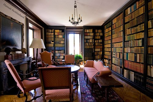 Baron von Hardts personal library picture credit Hannah Swithinbank