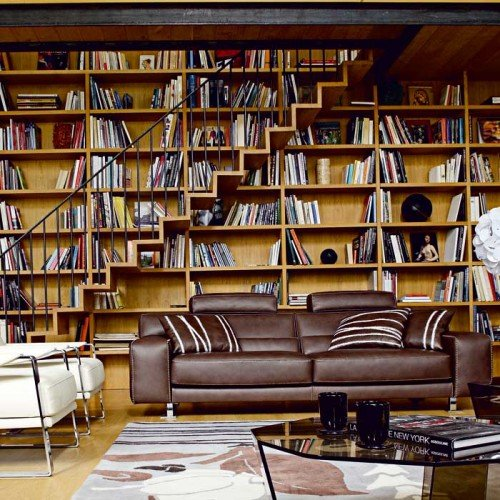 personal library design