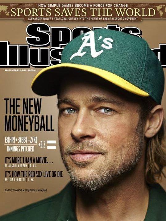Moneyball, Brad Pitt'i Hiç Böyle Görmediniz!
