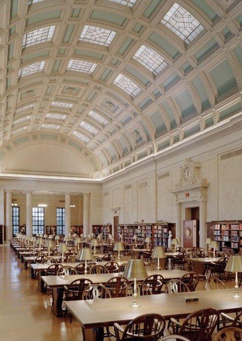 Harvard, Widener Kütüphanesi. Ne kadar şahanesin!