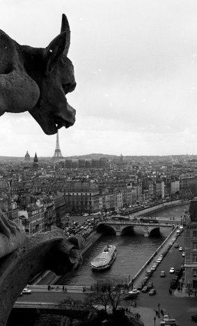 diaporama1924 La gargouille de Notre Dameavril 1