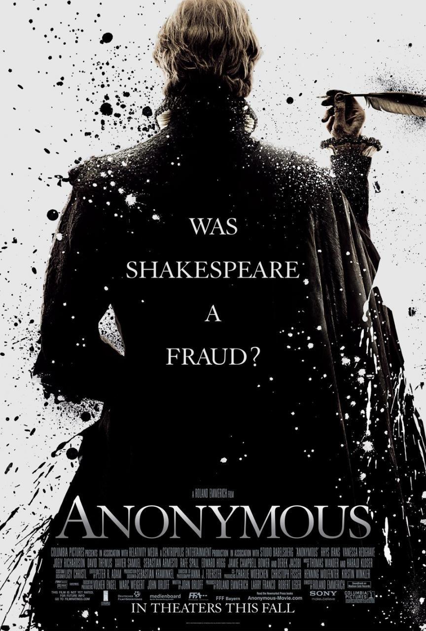 Anonymous, Shakespeare aslında kimdi?