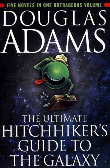 Douglas Adams – Otostopçunun Galaksi Rehberi