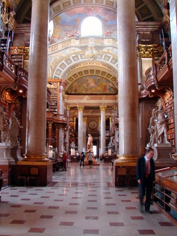 Avrupa'nın Şahane Kütüphaneleri – 3