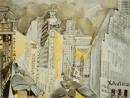 """Times Square, 1944″ Zelda Fitzgerald"