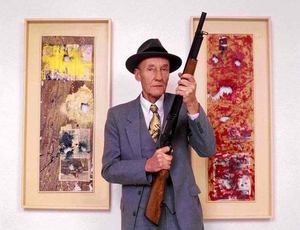 William S. Burroughs iki çalışmasıyla