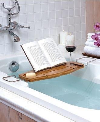 banyoda kitap okuma aracı