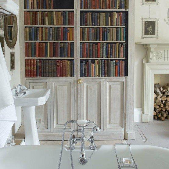 banyoda kitap