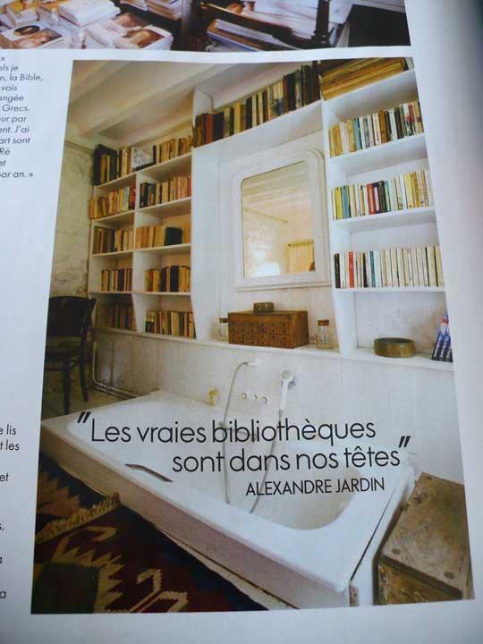 banyoda kitaplar