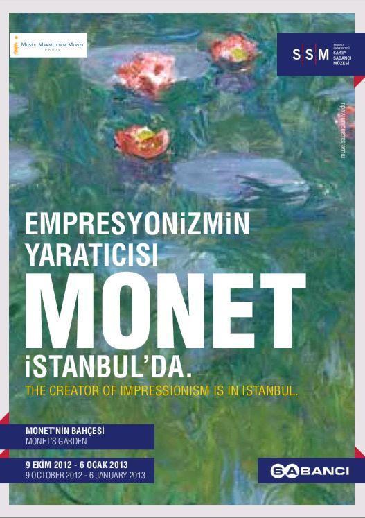 Monet İstanbul'da!