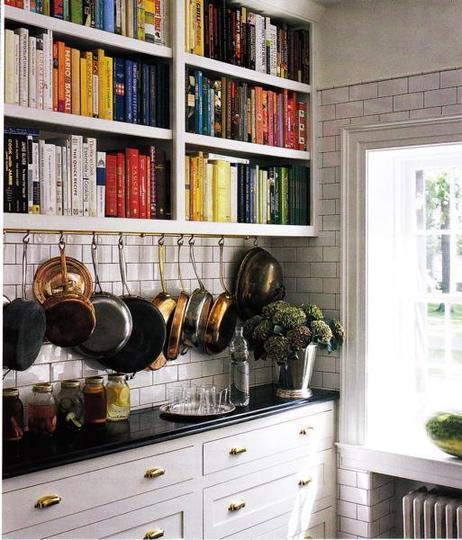 Mutfakta Kitaplıklar!
