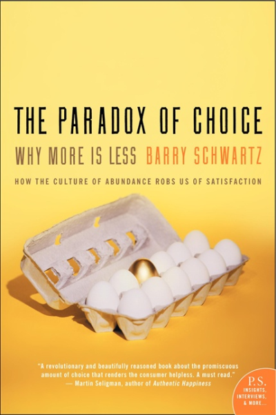 Barry Schwartz – Bolluk Paradoksu