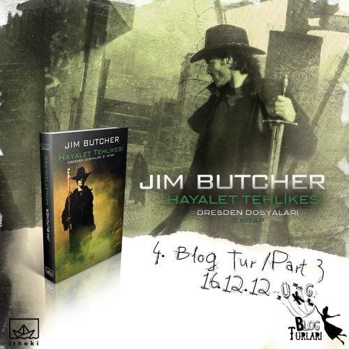 Jim Butcher Hayalet Tehlikesi
