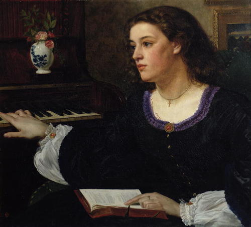 Sir Edward John Poynter - Day Dream