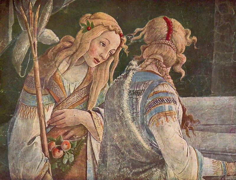 Sandro Boticelli - Trial of Moses'dan bir parça