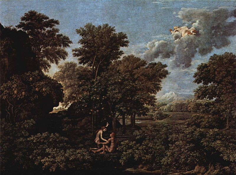 Nicolas Poussin - Spring, or the Earthly Paradise (1660)