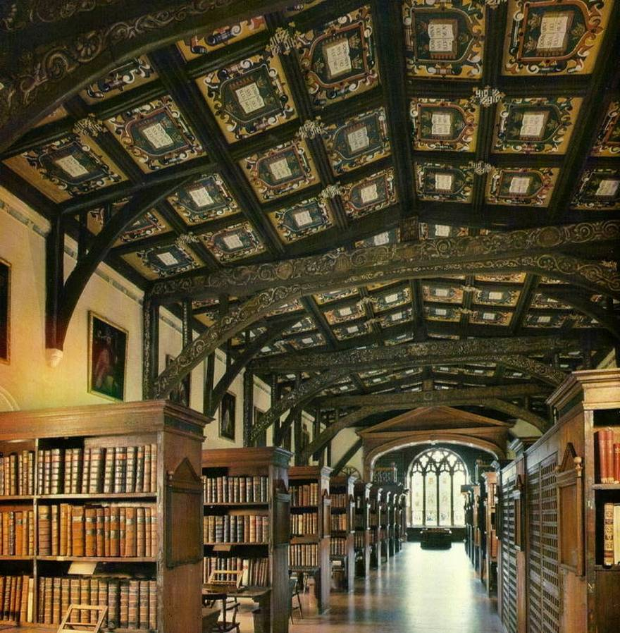 The Bodleian Libraries -  Oxford University