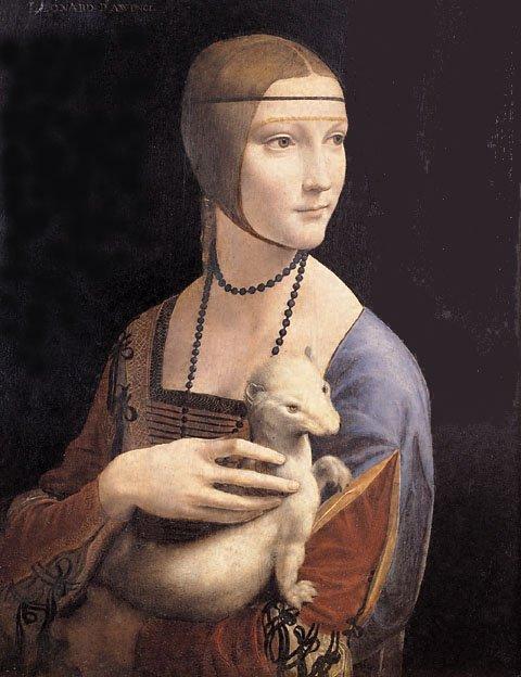 Leonardo da Vinci, Lady with