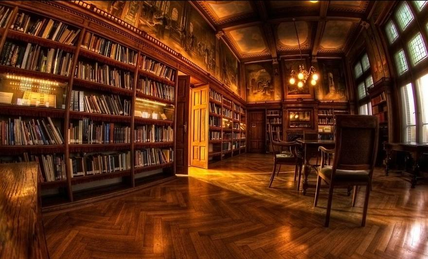 The Biltmore House Library