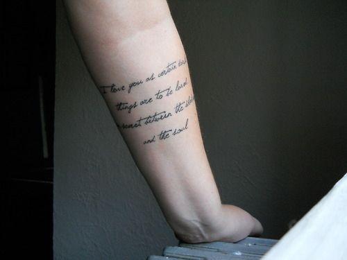 edebi aşk dövmeleri
