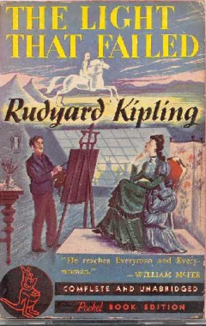 Rudyard Kipling - Sönen Işık, Yıllanmış Kitaplar Gibisi Yok!