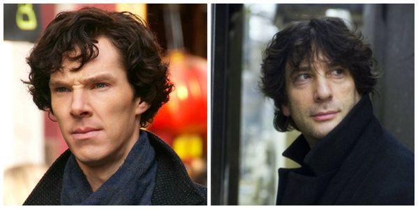 Filmlerde yazarlar Benedict Cumberbatch Neil Gaiman