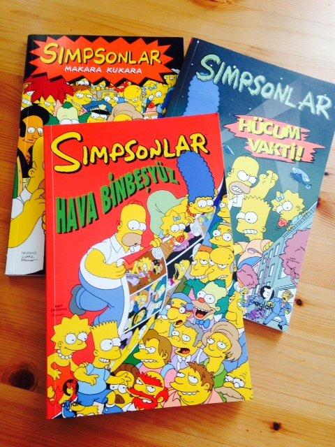 Simpsonlar Çizgi Romanları!