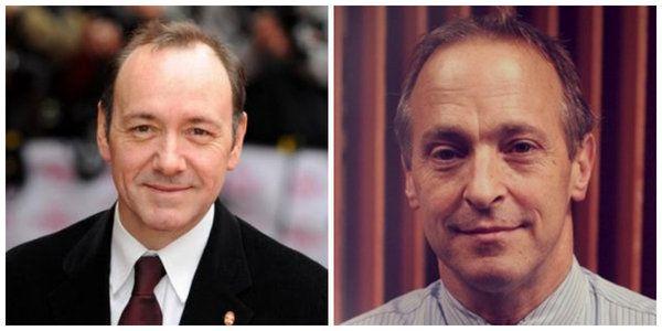 filmlerde yazarlar Kevin Spacey ve David Sedaris