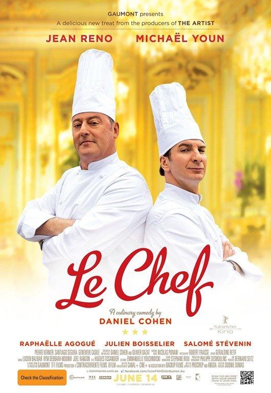 Le Chef - Jean Reno'dan Harika Bir Şef Olur mu Dersiniz?