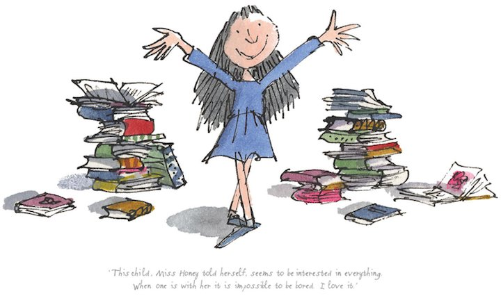 Matilda çocuk kitabı