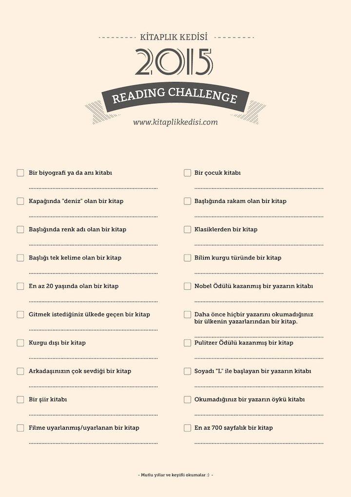 kitaplık kedisi reading challenge