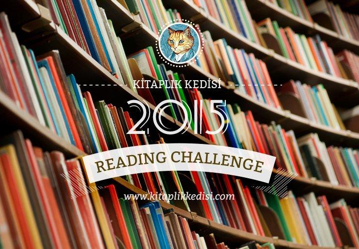 Kitaplık Kedisi Reading Challenge 2015! (Siz de Katılın!)