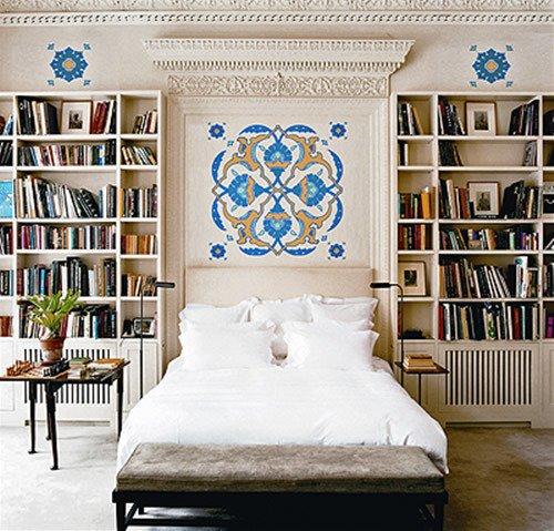 Yatak Odasında Kitaplıklar! (Uykunuz Kaçabilir)