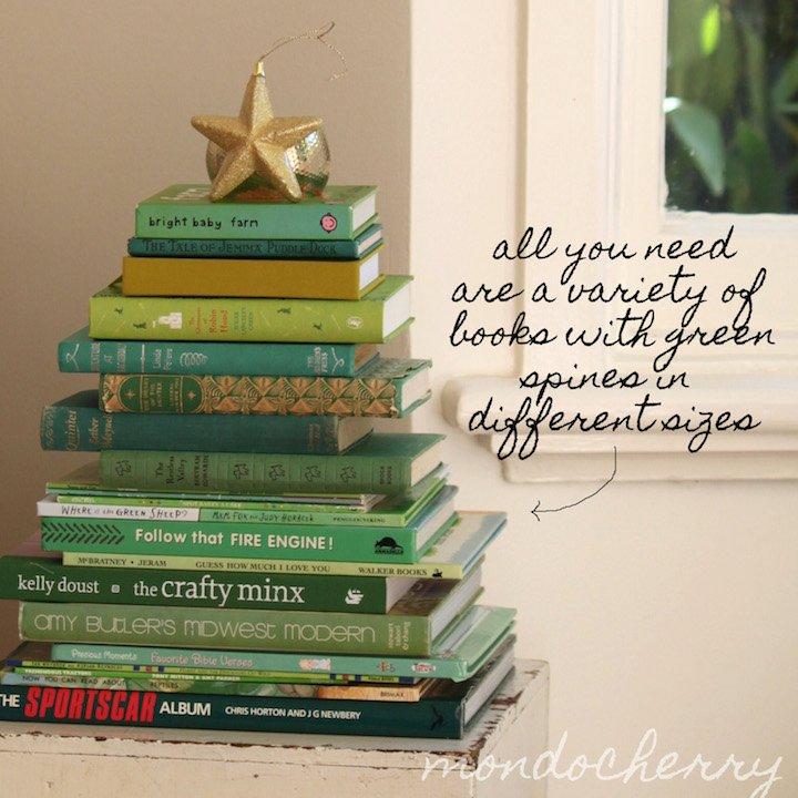 kitaptan yılbaşı ağacı