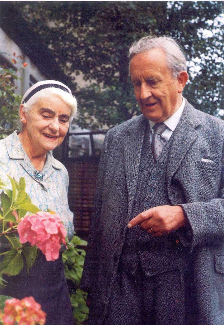 Ronald ve Edith Tolkien 1966