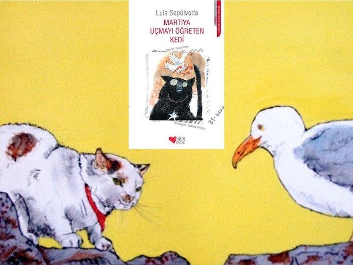 Martıya Uçmayı Öğreten Kedi Luis Sepulveda