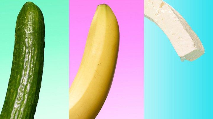 cucumber ve banana