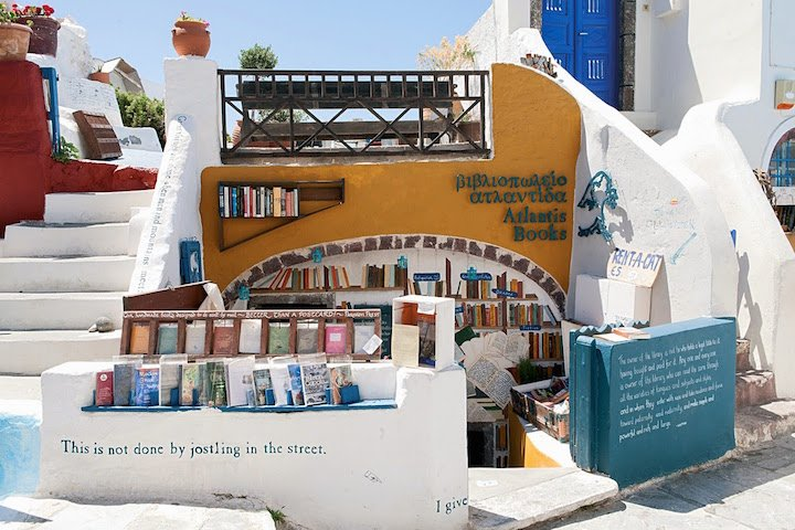 Santorini Atlantis Books, Dünyanın En Güzel Kitapçısı