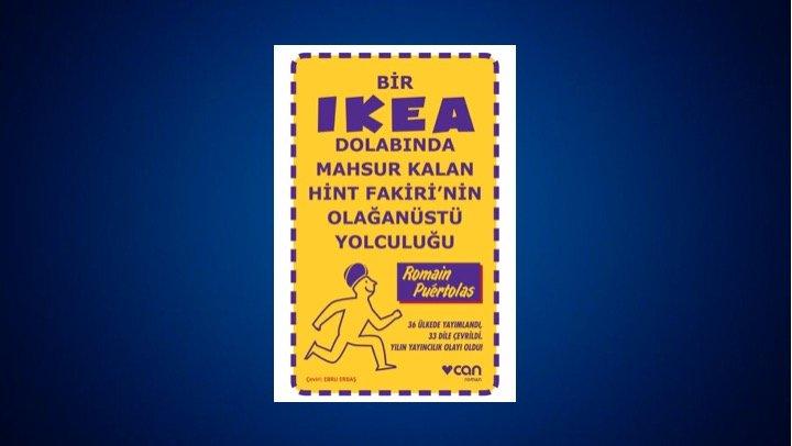 Bir IKEA Dolabında Mahsur Kalan Hint Fakirinin Olağanüstü Yolculuğu - Romain Puertolas