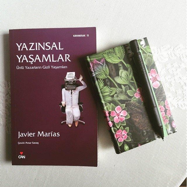 Javier Marias - Yazınsal Yaşamlar (Ünlü Yazarların Gizli Yaşamları)