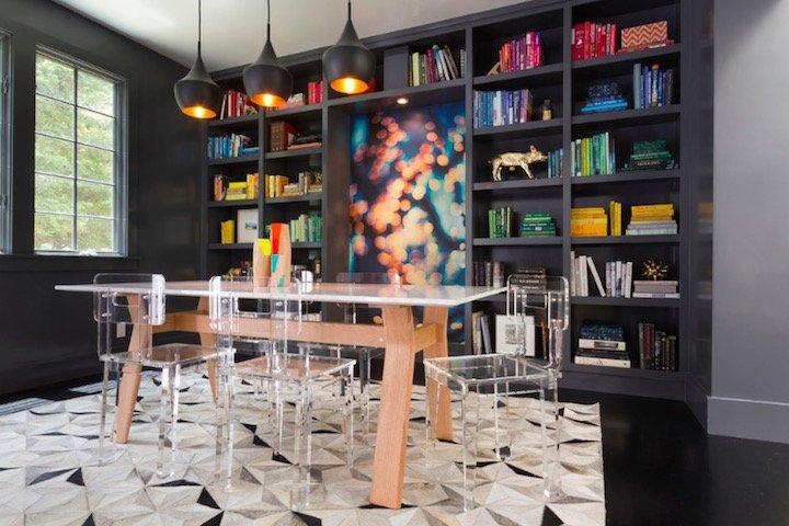 Yemek Odasında Kitaplıklar - Yemekte Ne Okurdunuz?